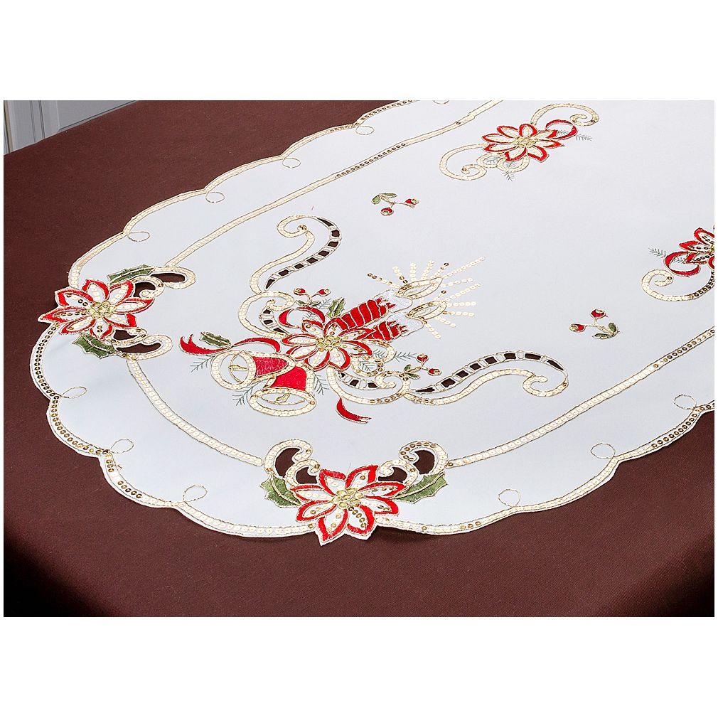 Скатерти и салфетки Santalino Дорожка на стол Marshan (60х120 см) wisan салфетка дорожка кшиштов цвет золотистый 60х120 см