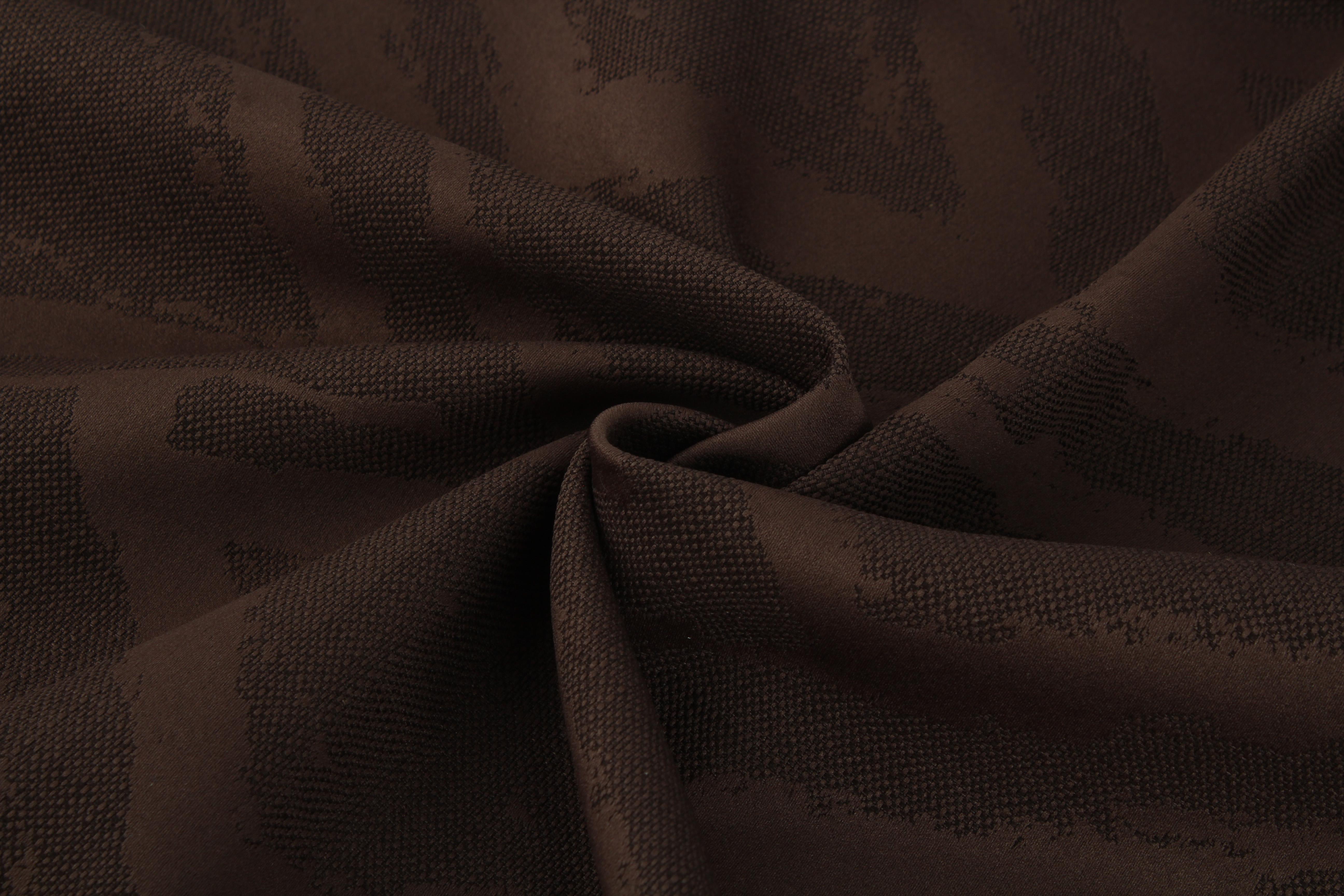 Купить Ткани TexRepublic, Материал Жаккард Rhombuses Цвет: Шоколадный, Китай, Коричневый