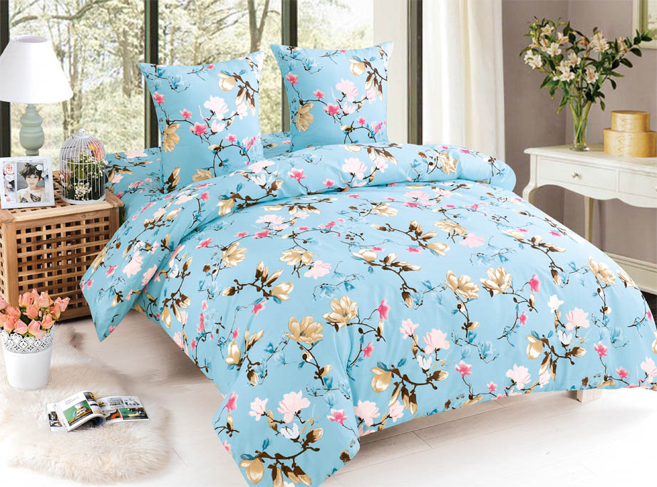 Купить Комплекты постельного белья Amore Mio, Постельное белье Taylor (2 сп. евро), Китай, Поплин