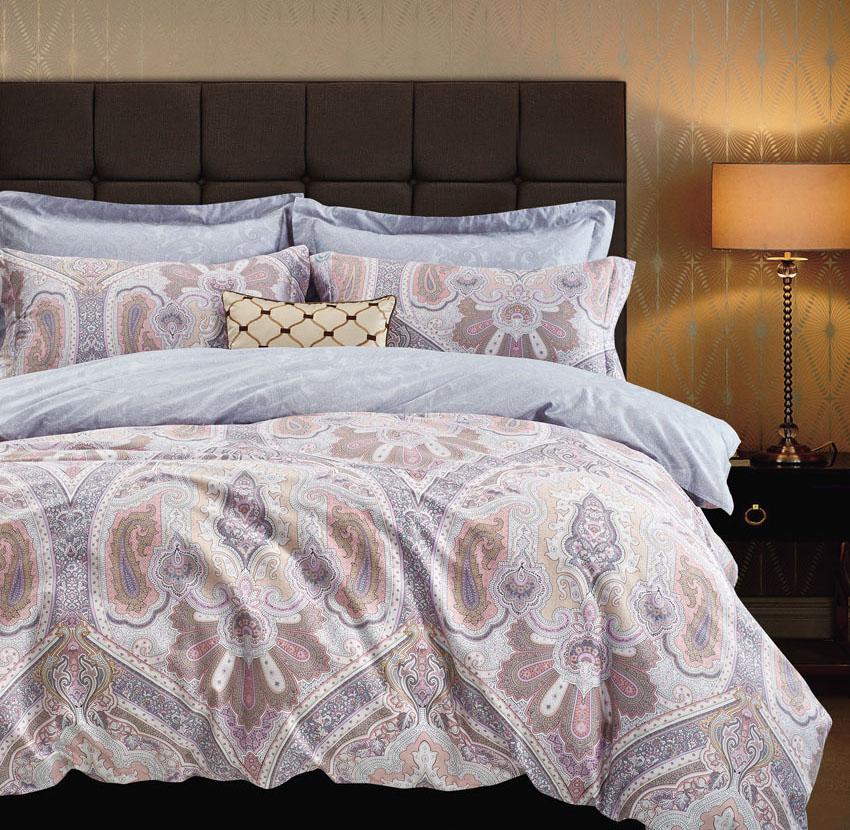 Купить Комплекты постельного белья Tango, Постельное белье Briar (2 спал.), Китай, Сиреневый, Хлопковый сатин