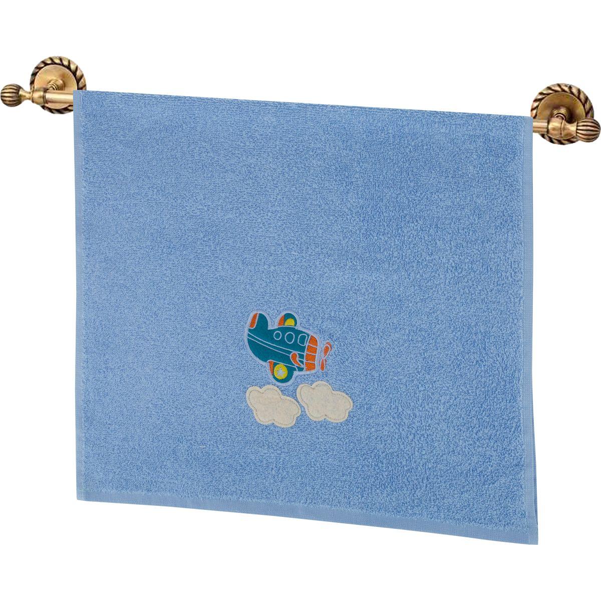 Купить Полотенца Santalino, Полотенце Самолетик Цвет: Голубой (40х70 см), Россия, Махра