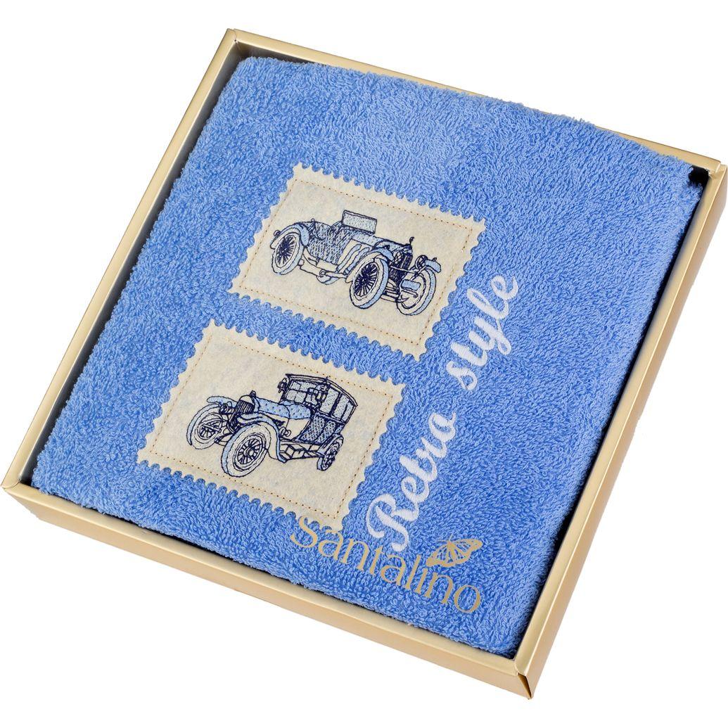 Купить Полотенца Santalino, Полотенце Dunky (50х90 см), Китай, Голубой, Махра