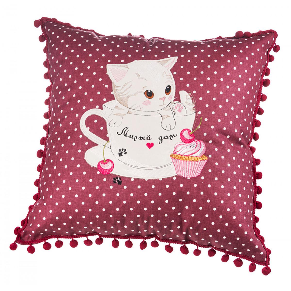 Декоративные подушки Santalino Декоративная подушка Arianna (45х45) декоративные подушки santalino декоративная подушка гуси 45х45