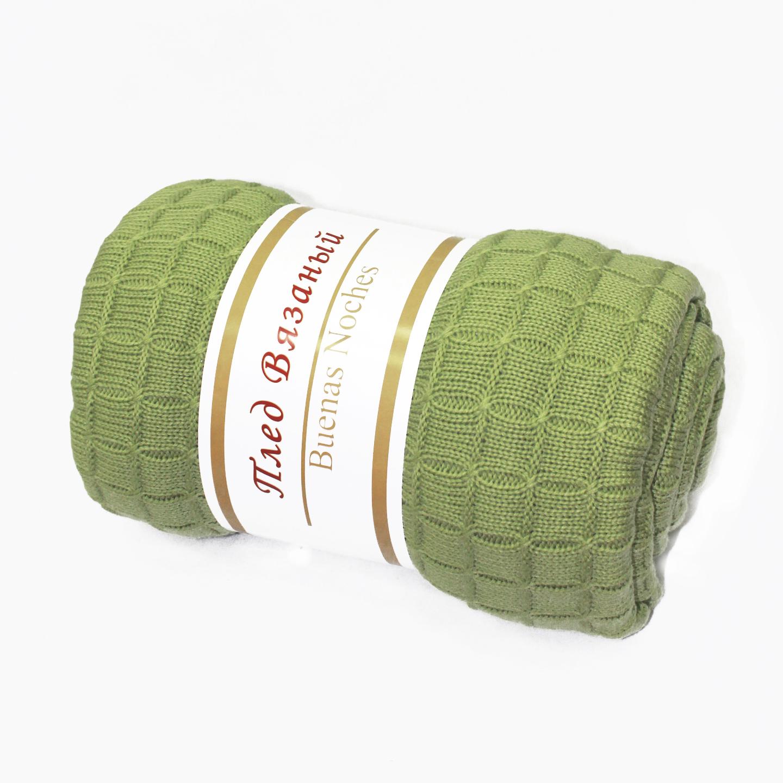 Пледы и покрывала Amore Mio Плед Manhattan Цвет: Зеленый (130х160 см) плед amore mio delicacy 150 х 200 см