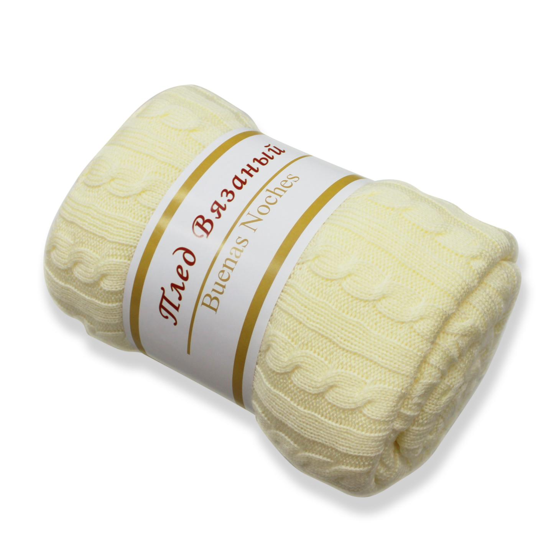 Пледы и покрывала Amore Mio Плед Manhattan Цвет: Молочный (130х160 см) плед двуспальный amore mio шкура 180 230 см