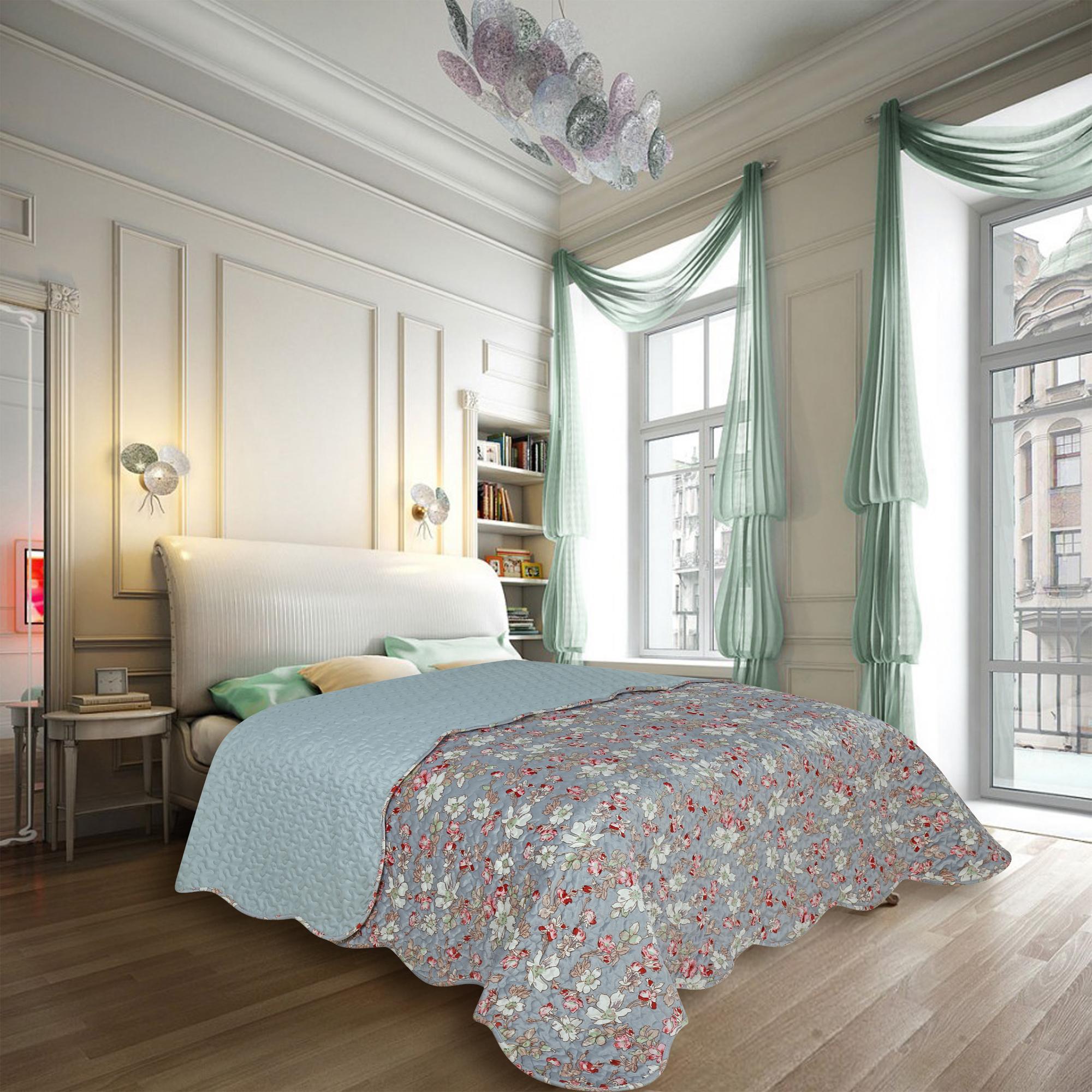 Купить Пледы и покрывала Amore Mio, Покрывало Louisa (220х240 см), Китай, Синтетический сатин