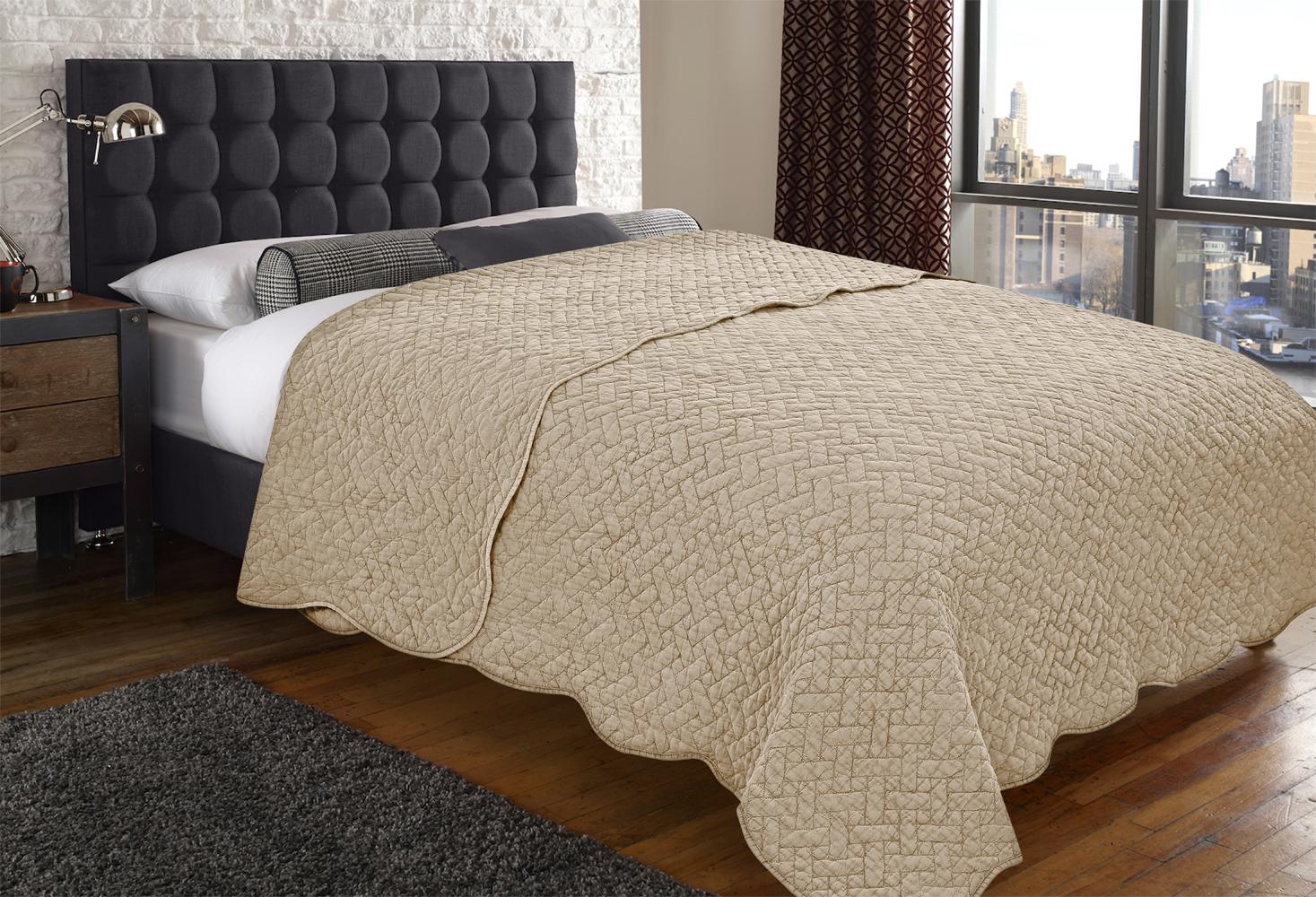 Купить Пледы и покрывала Amore Mio, Покрывало Olivette(220х240 см), Китай, Синтетический сатин