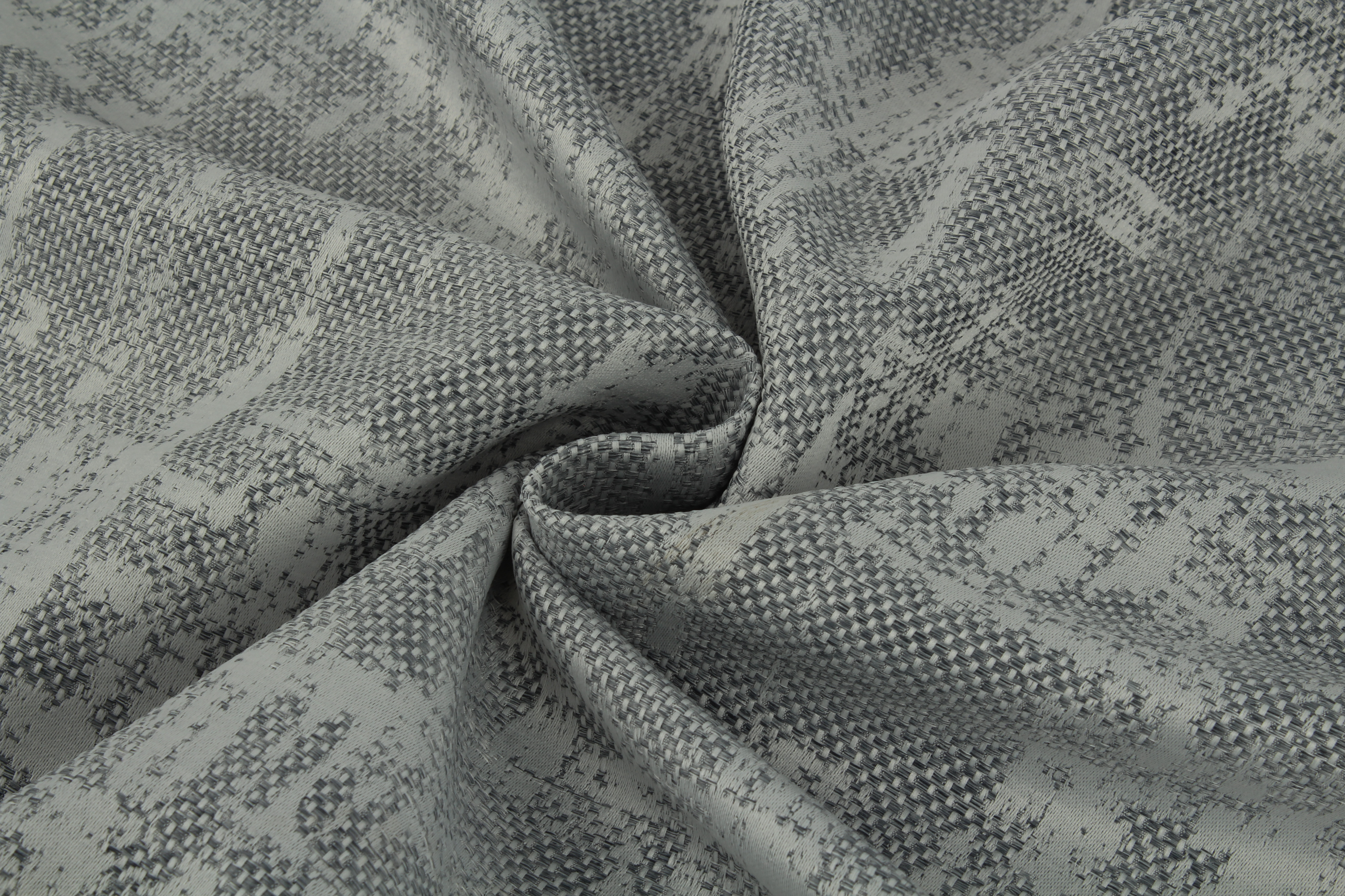 Купить Ткани TexRepublic, Материал Жаккард Japanese Motive Цвет: Серый, Турция