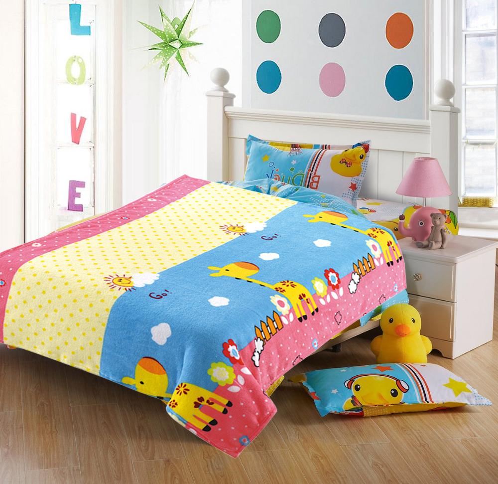 Купить Покрывала, подушки, одеяла для малышей Absolute, Детский плед Жираф (110х140 см), Россия, Коралловый флис