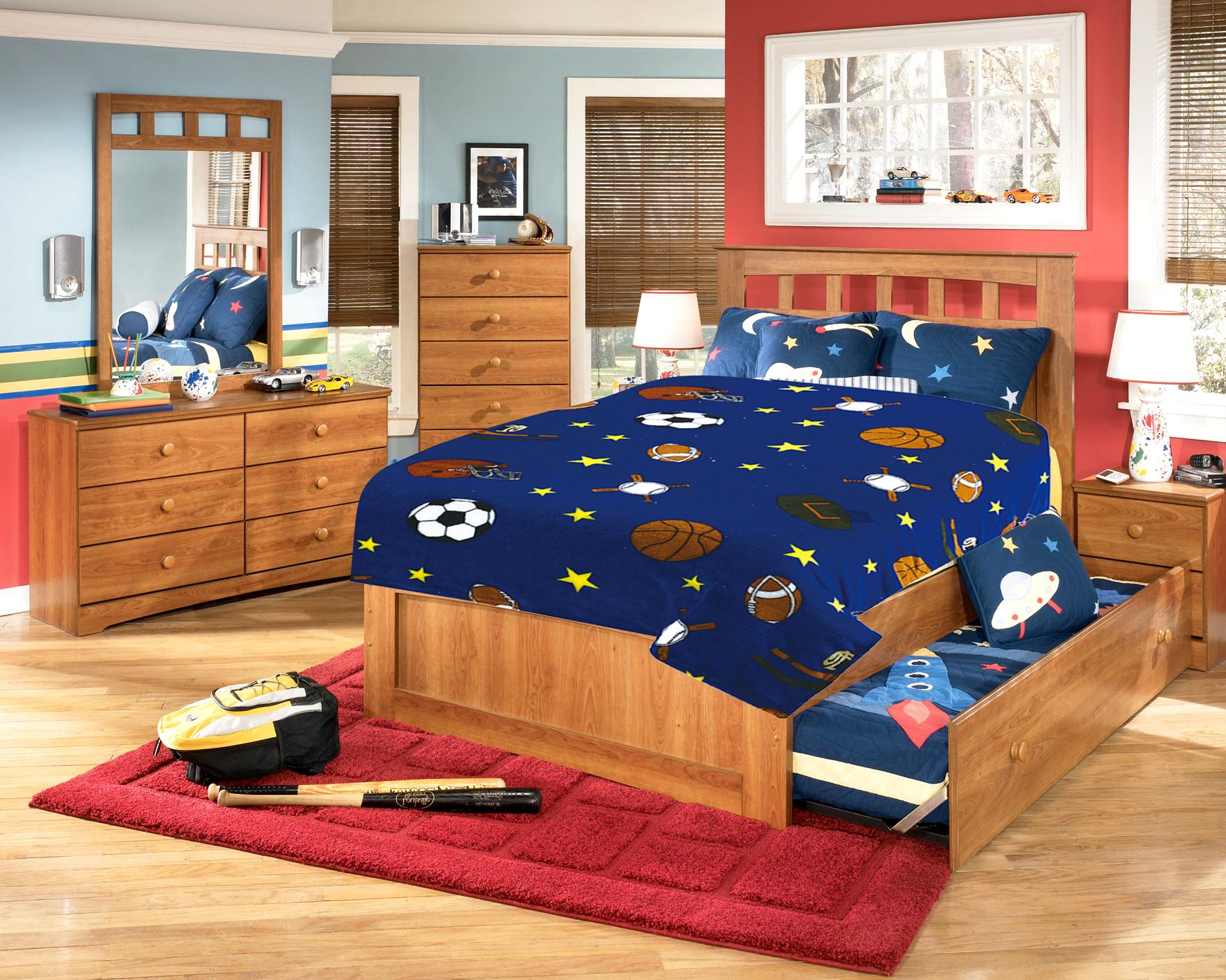 Купить Покрывала, подушки, одеяла для малышей TexRepublic, Детский плед Мячи (110х140 см), Китай, Синий, Микрофибра