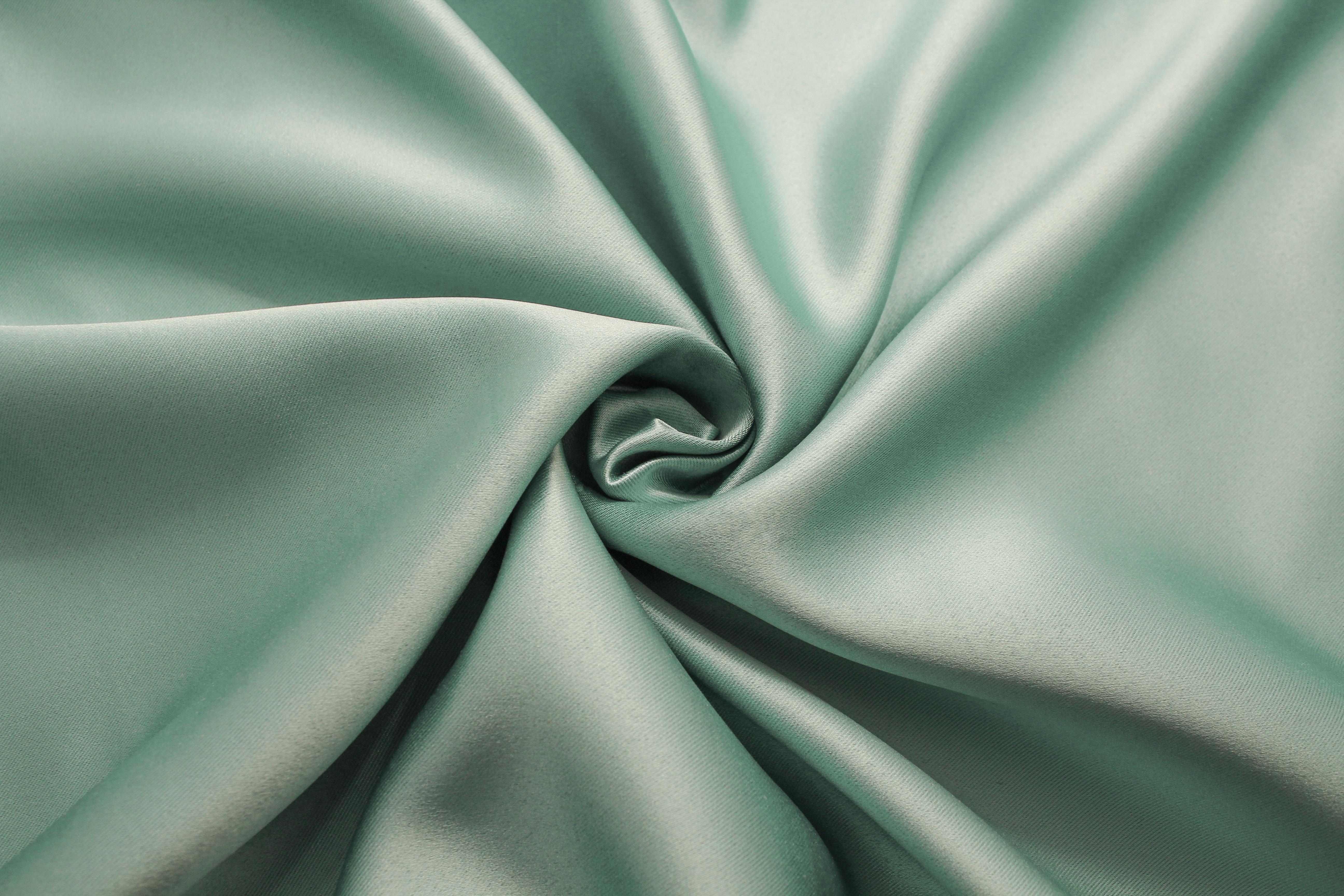 Купить Ткани TexRepublic, Материал Blackout Glaze Цвет: Ментол, Китай, Зеленый