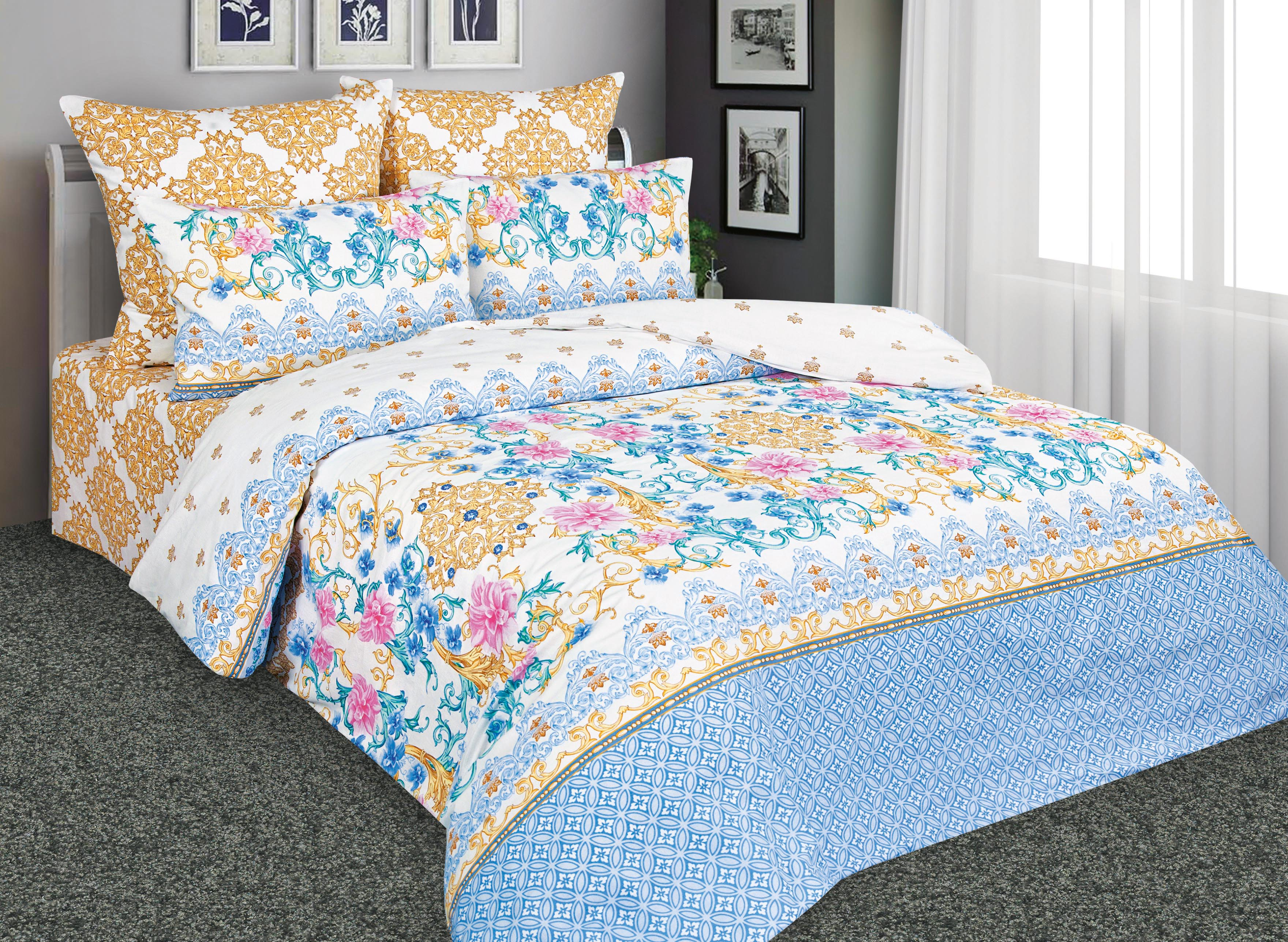 Комплекты постельного белья Amore Mio Постельное белье Великолепный (2 сп. евро)