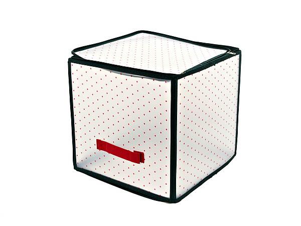Купить Корзины, коробки и контейнеры Monte Christmas, Коробка для хранения Smart (15х30х30 см), Китай, Белый, Красный, Полимер