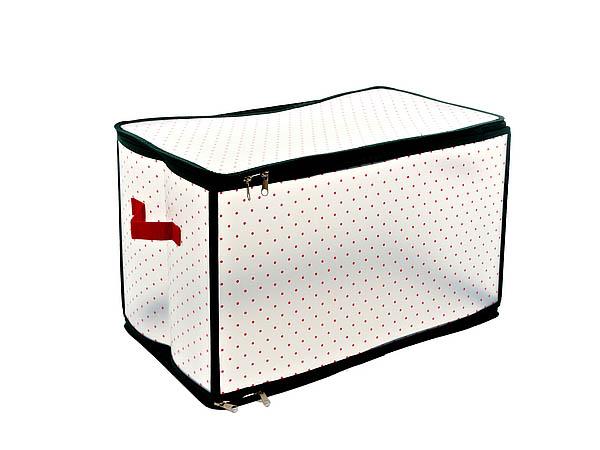 Купить Корзины, коробки и контейнеры Monte Christmas, Коробка для хранения Smart (30х30х52 см), Китай, Белый, Красный, Полимер
