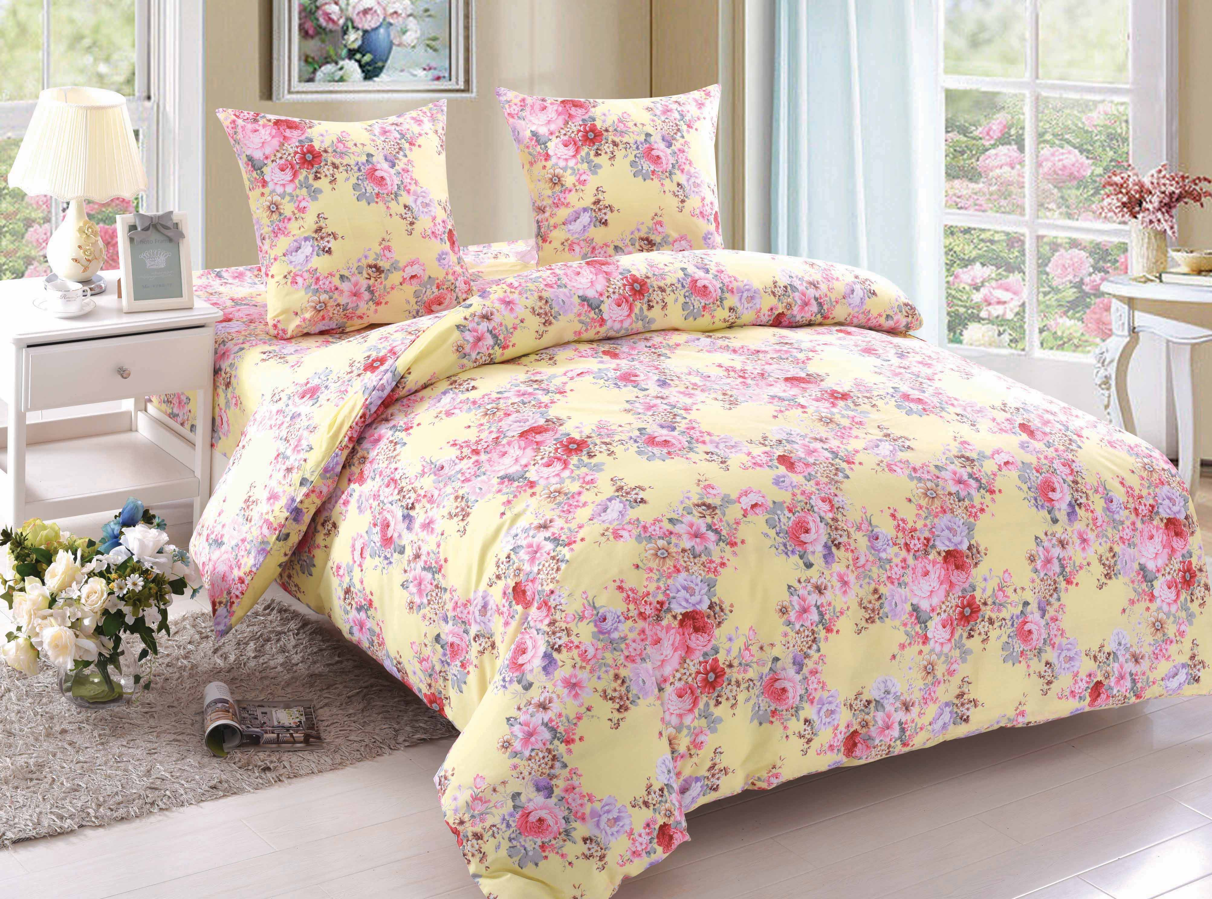 Купить Комплекты постельного белья Amore Mio, Постельное белье Trinity (2 сп. евро), Китай, Поплин