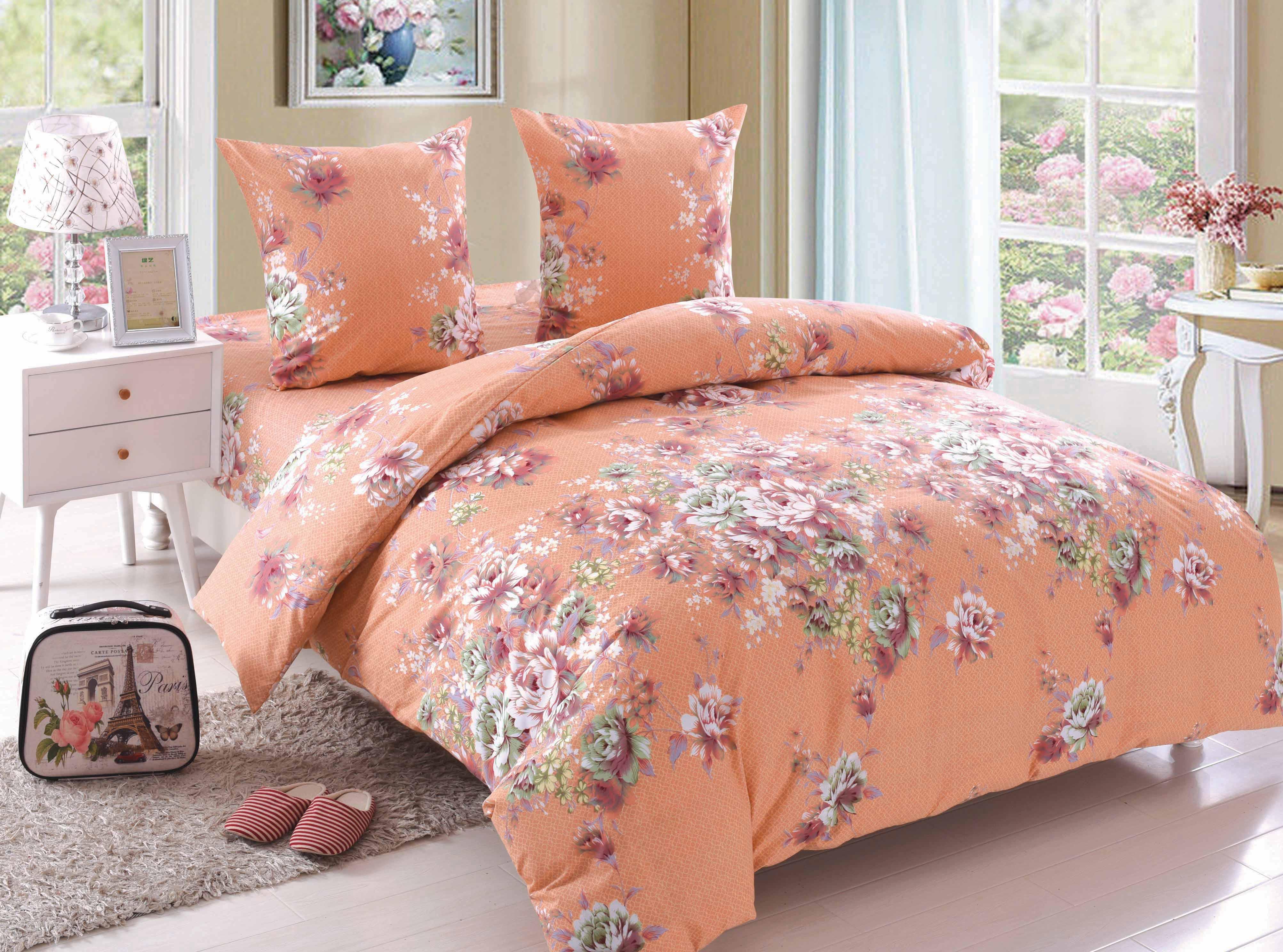 Купить Комплекты постельного белья Amore Mio, Постельное белье Rachel (2 сп. евро), Китай, Поплин