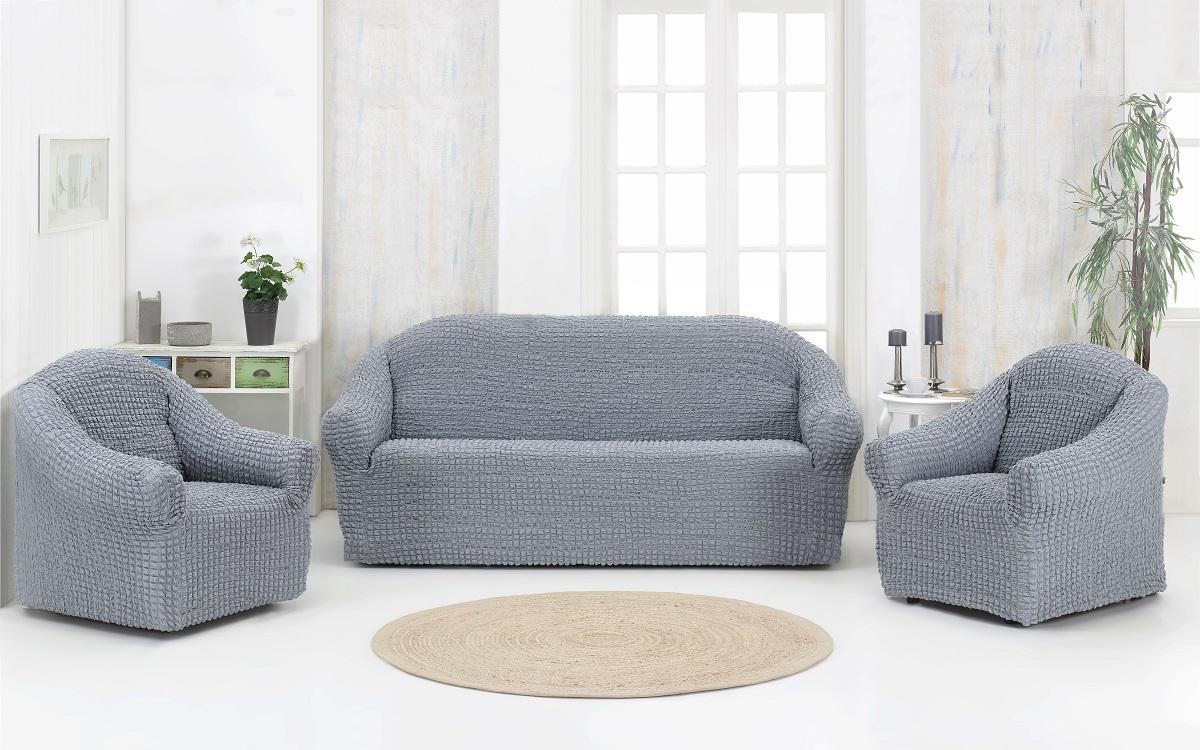 Чехол для мебели Benet Цвет: Серый (Одноместный,Трехместный)