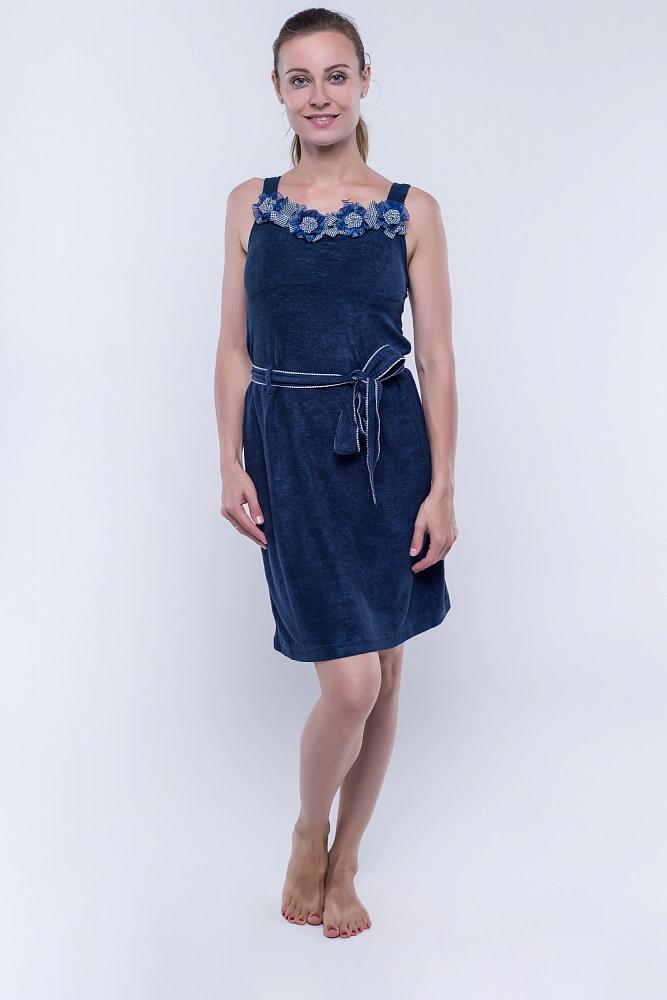 Сарафан Moriah Цвет: Тёмно-Синий (44).