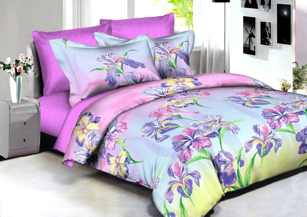 Купить Комплекты постельного белья Amore Mio, Постельное белье Manila (2 сп. евро), Китай, Хлопковый сатин