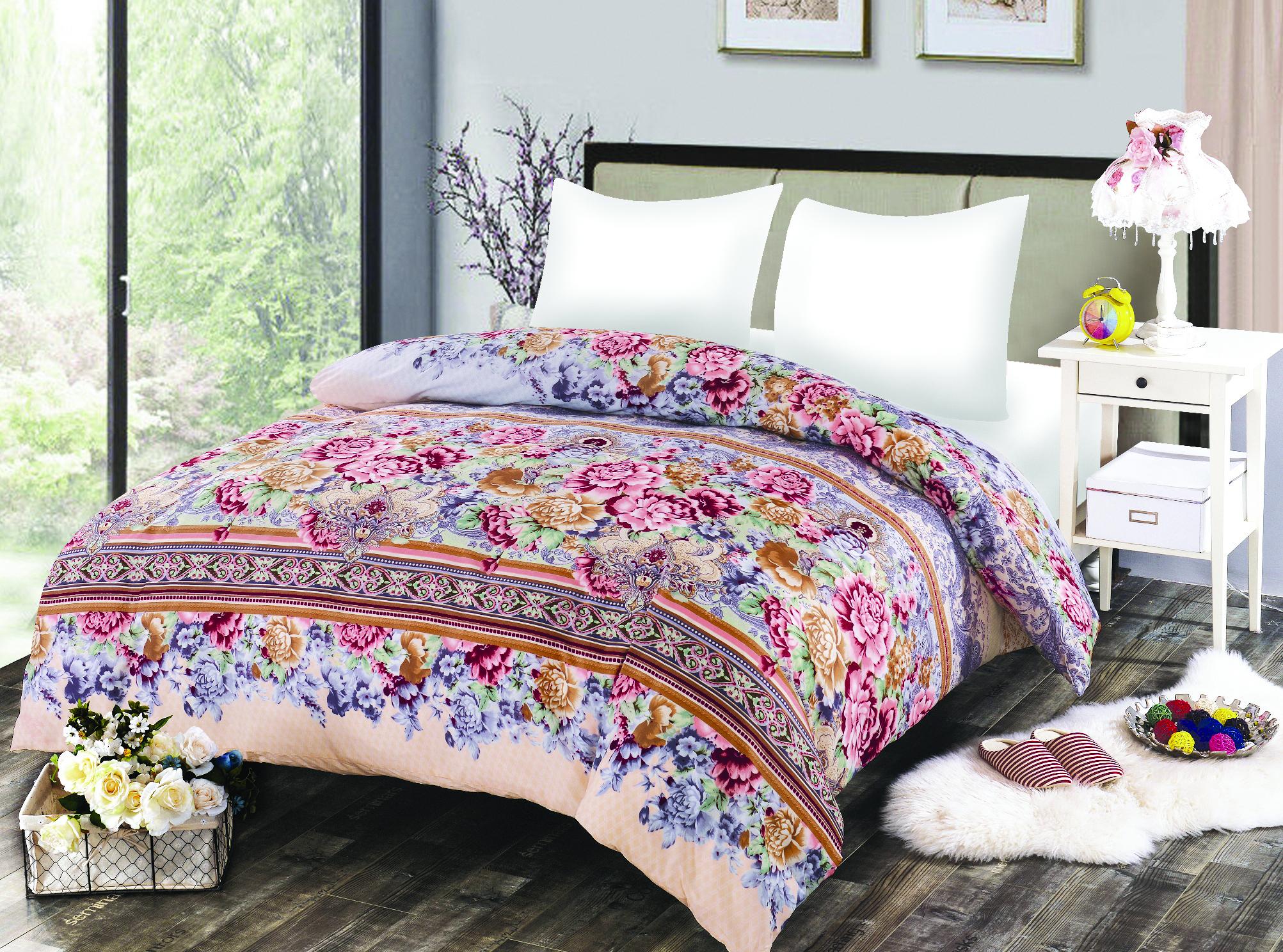 Купить Пледы и покрывала Amore Mio, Покрывало Molly (200х220 см), Китай, Мультиколор, Синтетический сатин