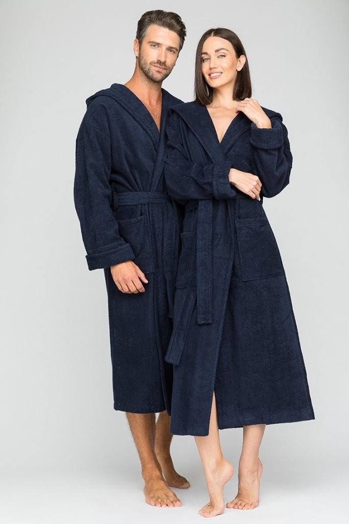 Банный халат Dougie Цвет: Темно-Синий (S) EvaTeks etx714226