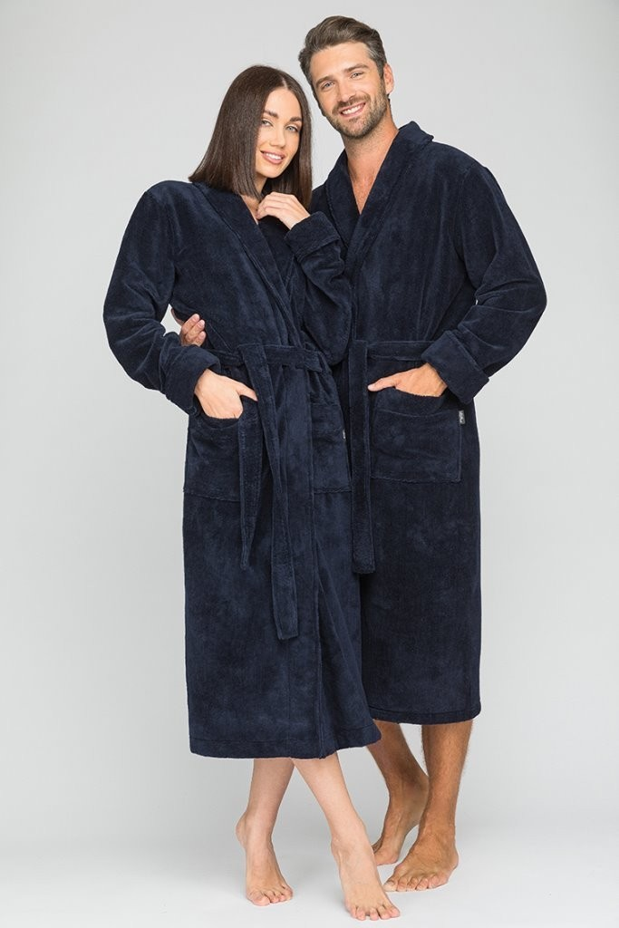 Банный халат Madisyn Цвет: Синий (M) Peche Monnaie pmn714228