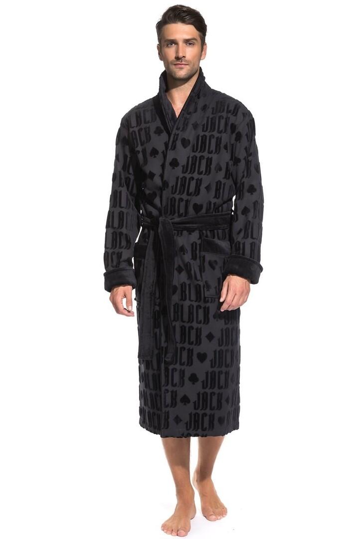 Банный халат Jack Цвет: Черный (M) Peche Monnaie pmn714233