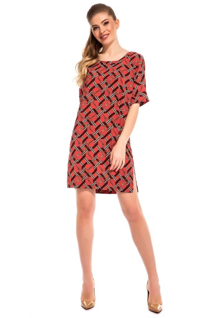 Платье-туника Veronica Цвет: Лососевый (50) Peche Monnaie pmn498066