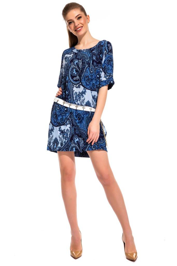 Платье-туника Veronica Цвет: Синий (40-42) Peche Monnaie pmn498069