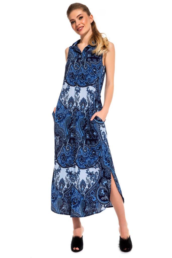 Платье-туника Calanthia Цвет: Синий (44) Peche Monnaie pmn498738