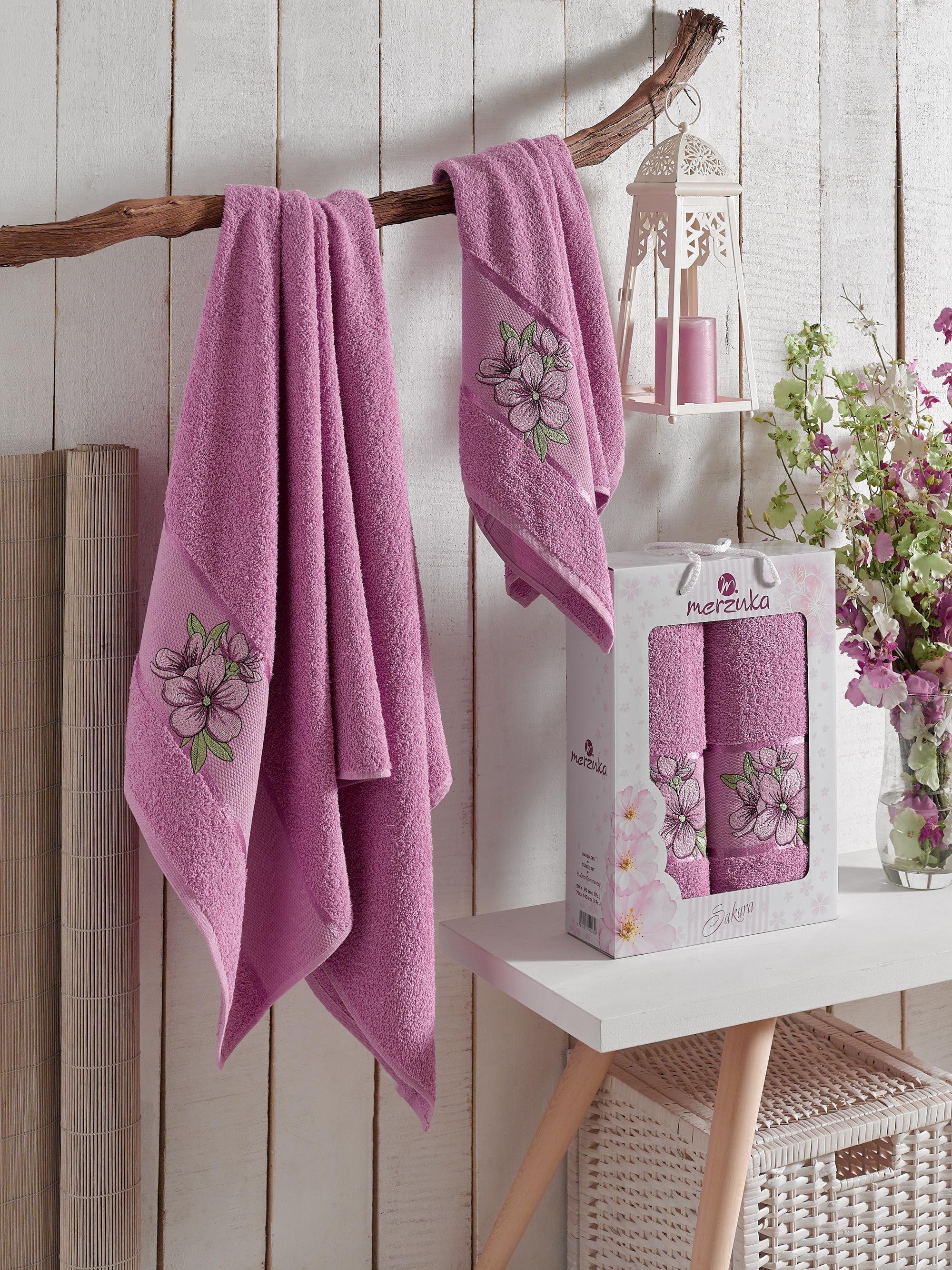 Полотенца Oran Merzuka Полотенце Cohen Цвет: Светло-Лиловый (50х80 см,70х130 см) полотенца oran merzuka полотенце sakura цвет светло лиловый набор
