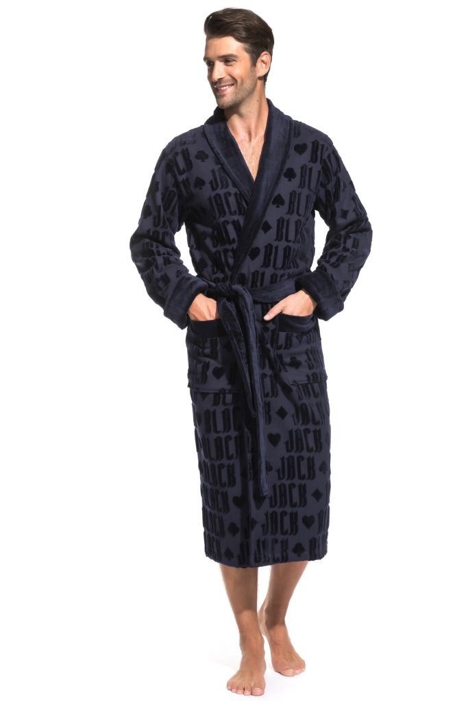 Банный халат Jack Цвет: Темно-Синий (L) Peche Monnaie pmn714230
