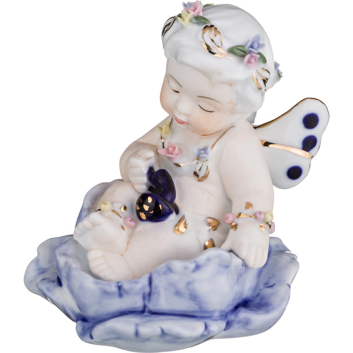 Купить Статуэтки и фигурки Lefard, Фигурка Deana (7х10 см), Китай, Розовый, Фиолетовый, Фарфор