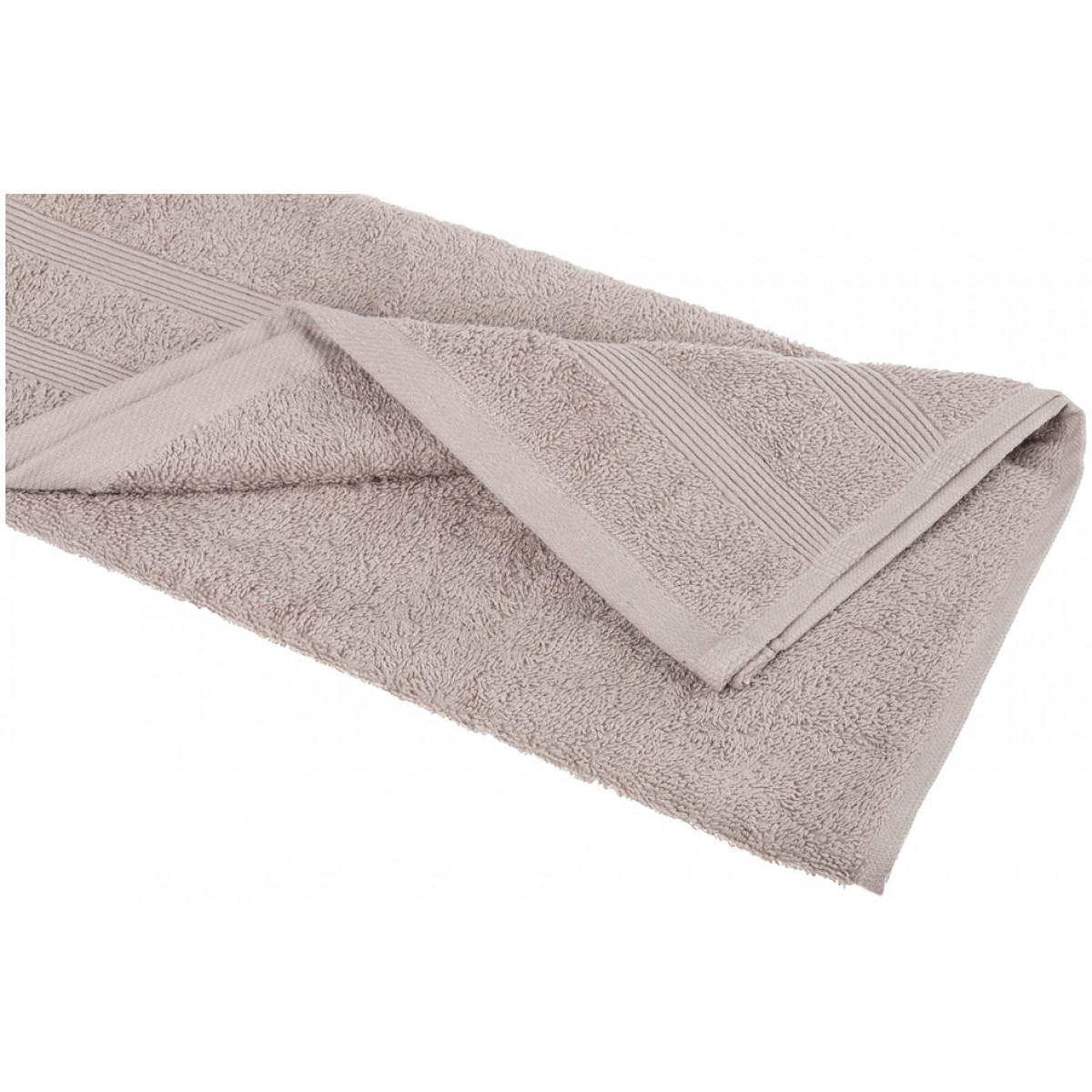 Купить Полотенца Santalino, Полотенце Makeda (40х70 см), Пакистан, Серый, Махра