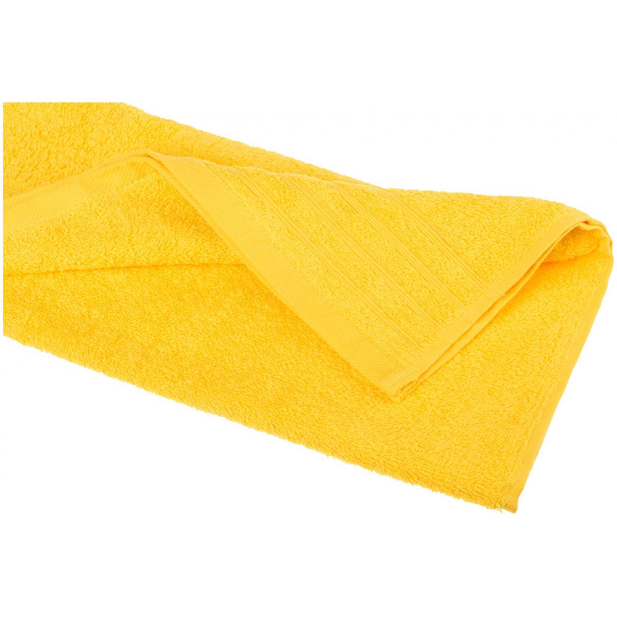 Купить Полотенца Santalino, Полотенце Mira (40х70 см), Пакистан, Желтый, Махра