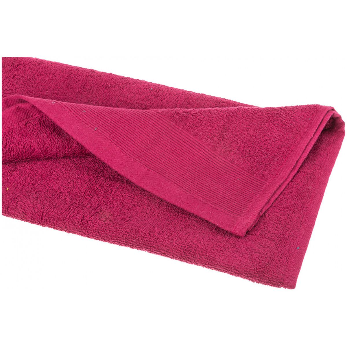 Купить Полотенца Santalino, Полотенце Allannah (40х70 см), Пакистан, Бордовый, Махра