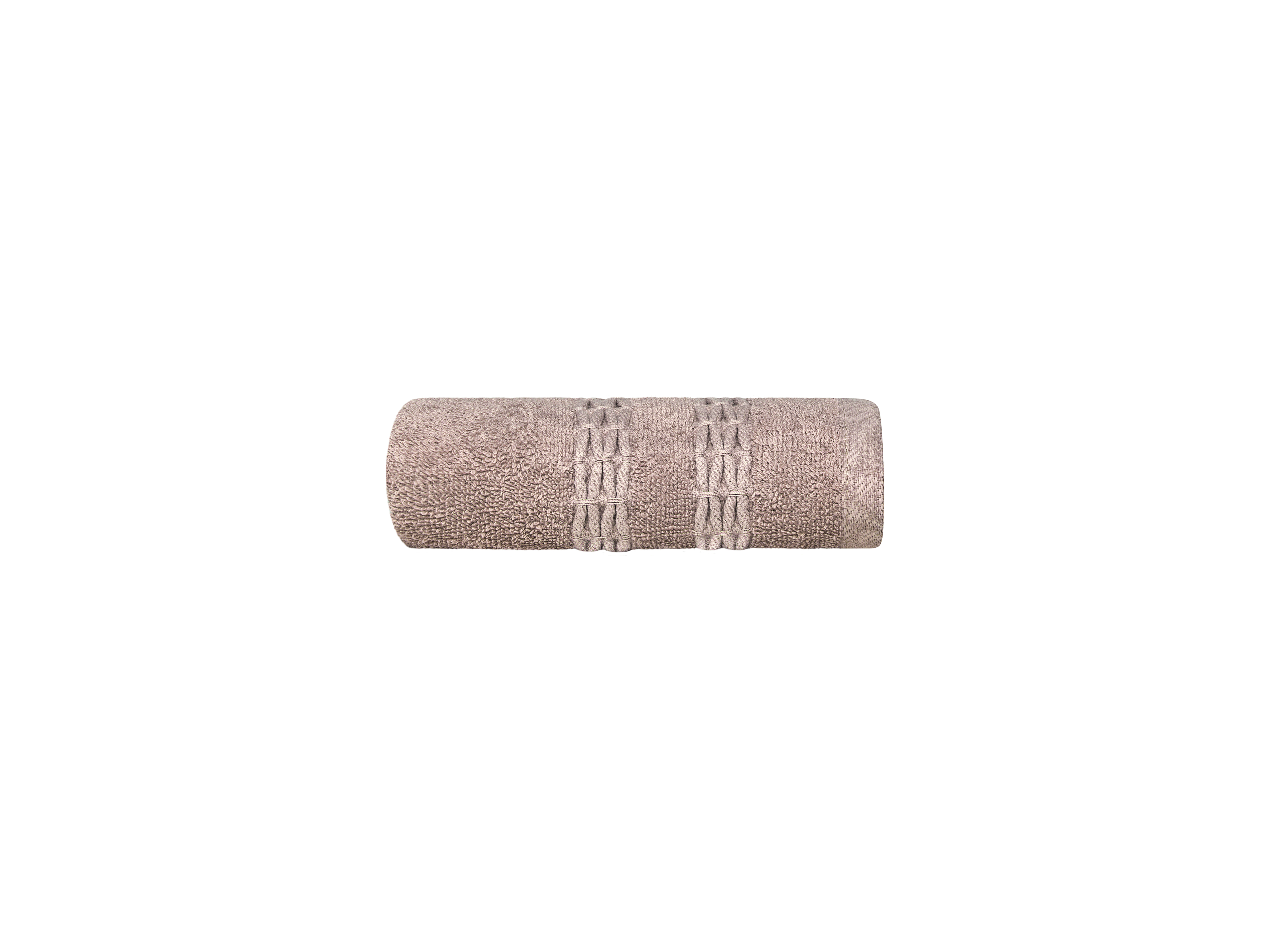 Купить Полотенца ESTIA, Полотенце Филоменто Цвет: Бежевый (40х60 см), Греция, Махра