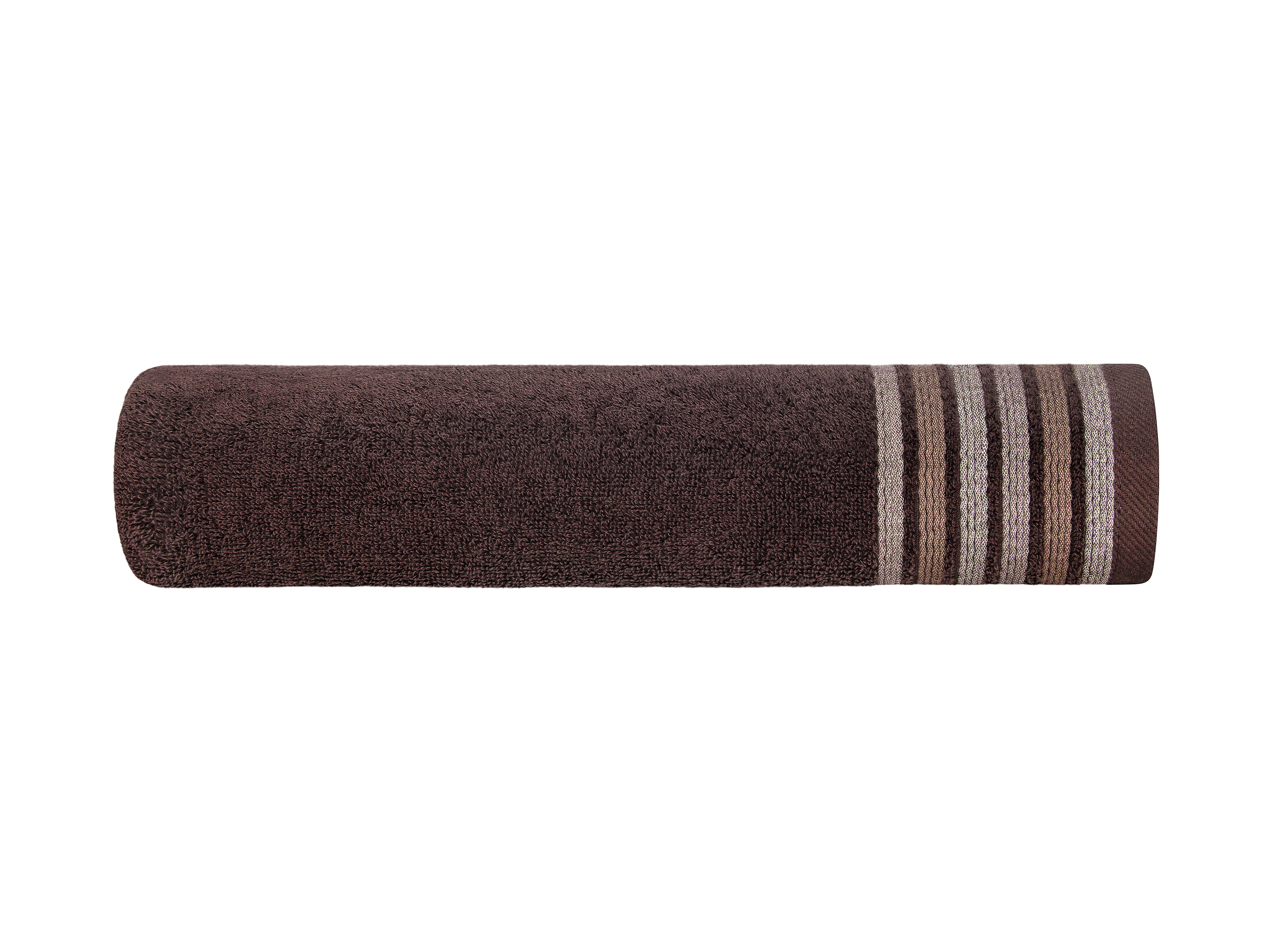 Полотенца ESTIA, Полотенце Эспозито Цвет: Коричневый (70х140 см), Греция, Махра  - Купить
