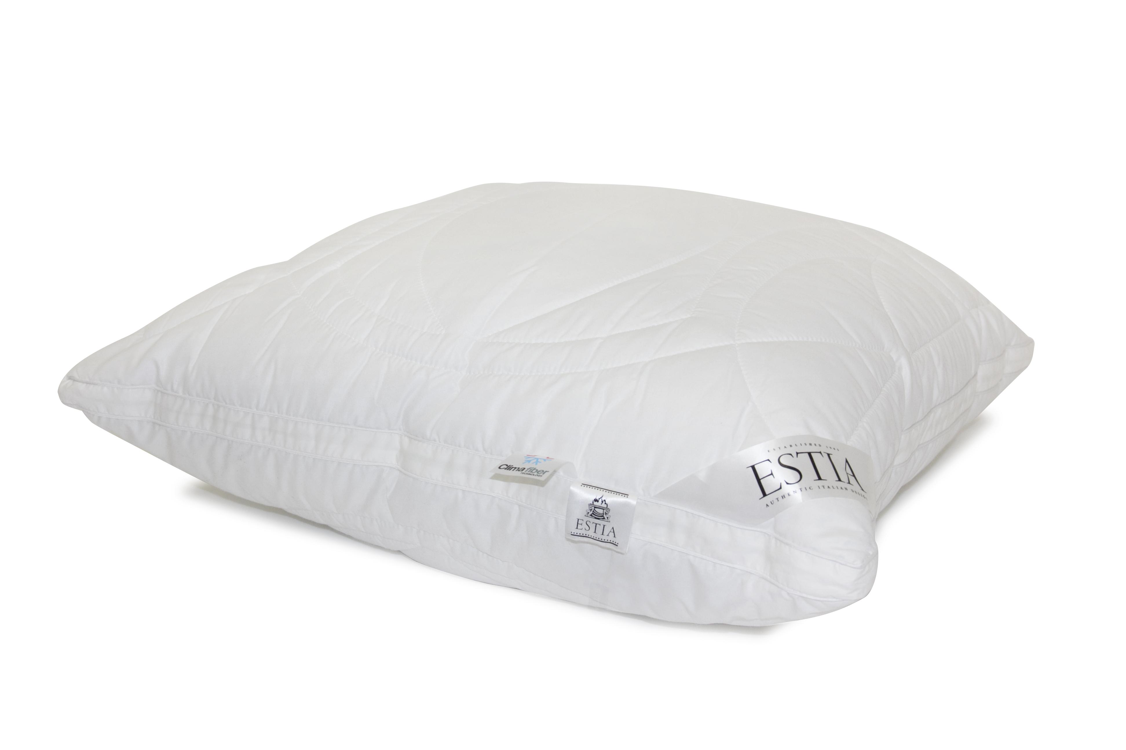 Купить Подушки ESTIA, Подушка Верде Цвет: Белый (70х70), Греция, Бамбуковый сатин