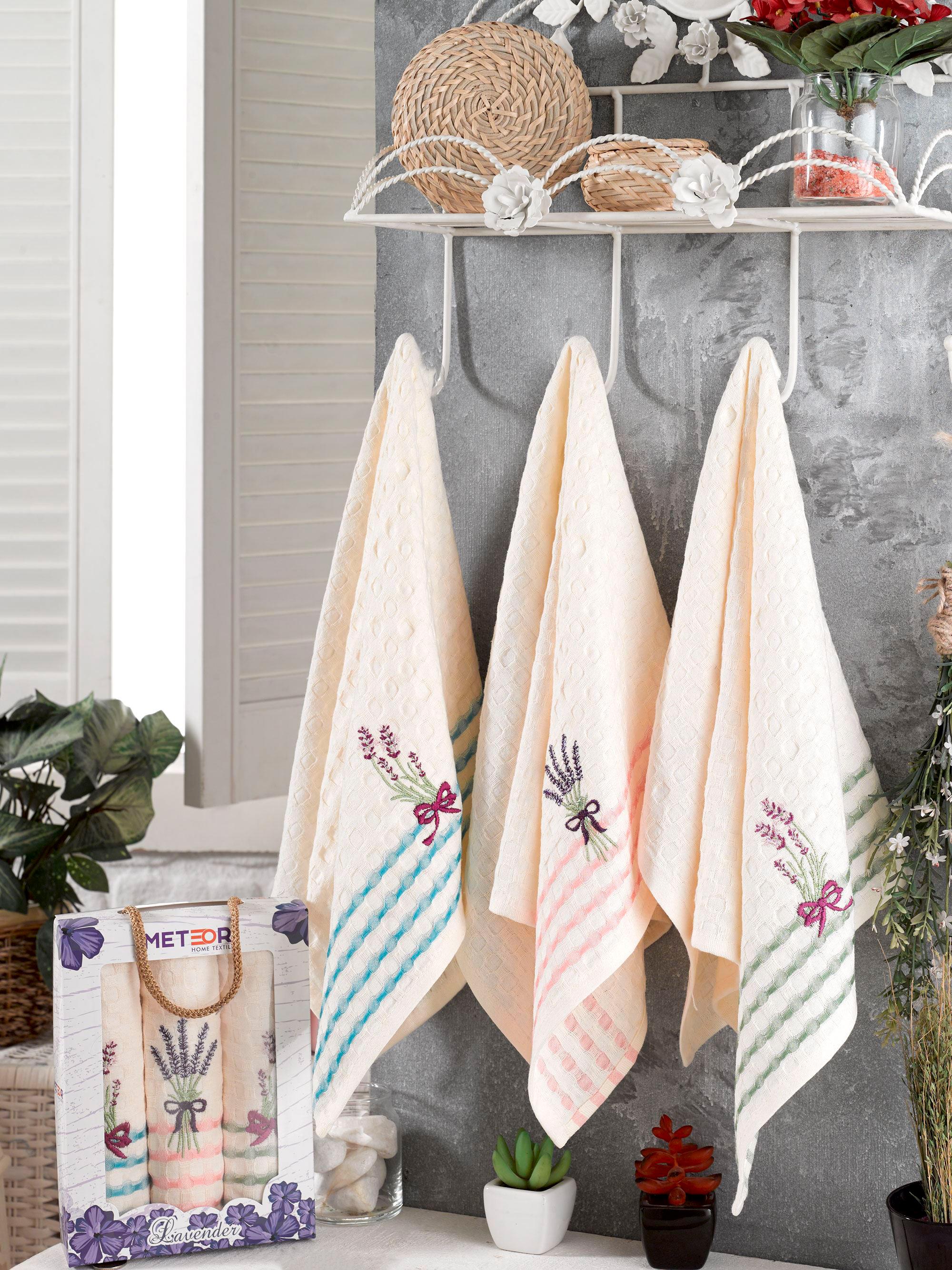 Кухонное полотенце Sole Lavanta (40х60 см - 3 шт)