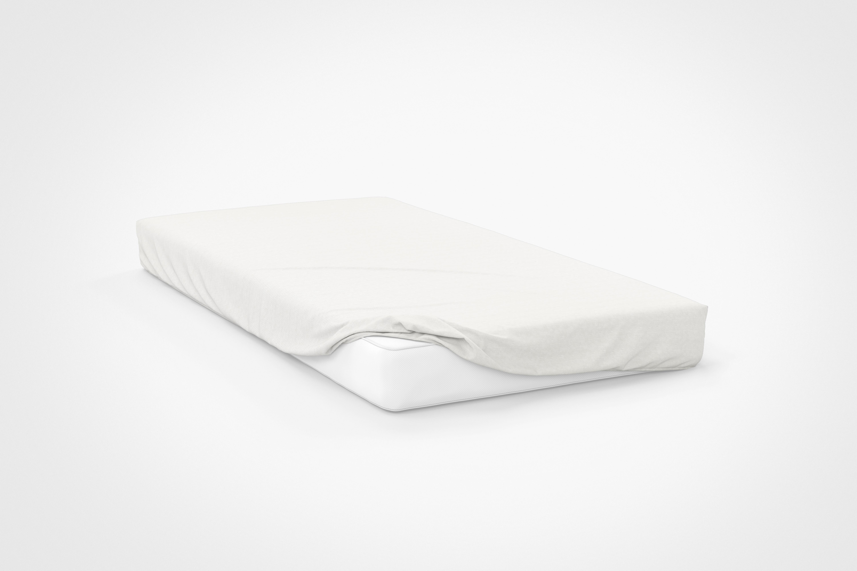 Простыня на резинке Delma Цвет: Белый (160х200) фото