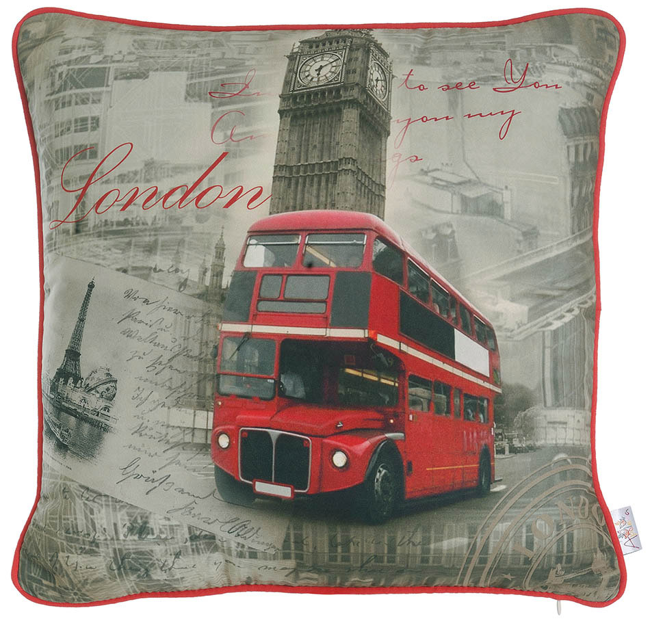 Декоративные подушки Apolena Декоративная наволочка Я Люблю Лондон (45х45) сейф я люблю лондон