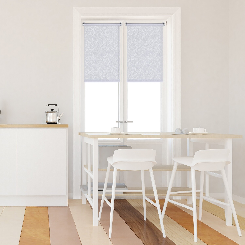 Рулонные шторы Палермо цвет: белый