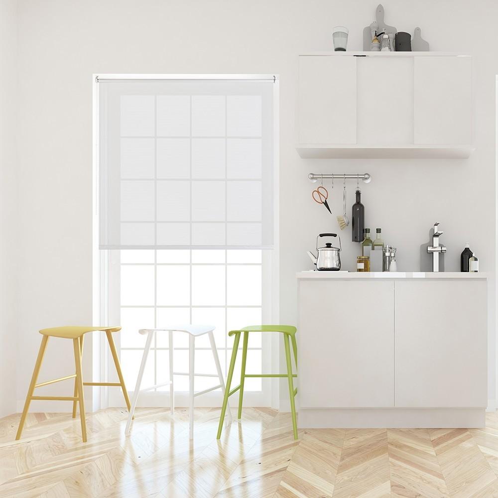 Рулонные шторы Вэил цвет: белый