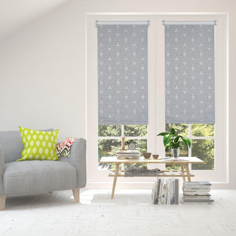 Рулонные шторы Санни цвет: светло-серый