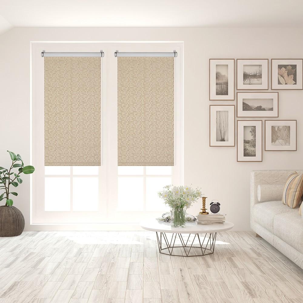 Рулонные шторы Баунти цвет: соломенный