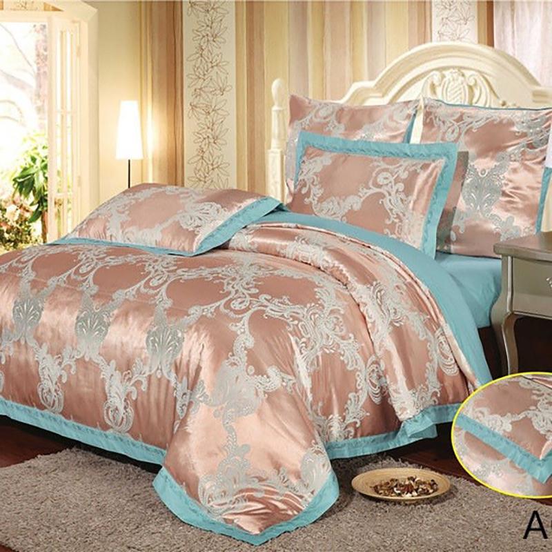 Купить Комплекты постельного белья Arlet, Постельное белье Stacee (2 сп. евро), Китай, Голубой, Розовый, Хлопковый сатин