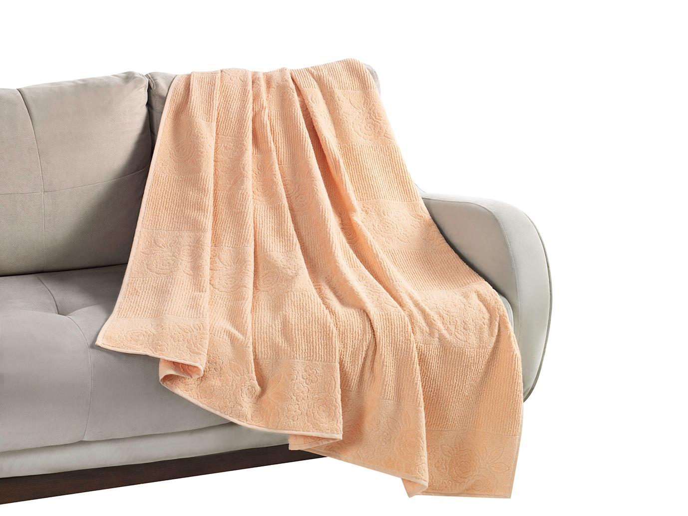 Покрывало-простыня Tsvety Цвет: Бежевый (160х200 см)