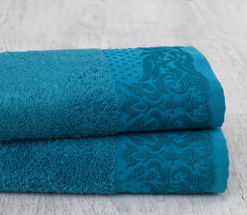 Полотенце Бамбук Цвет: Голубой (70х140 см)