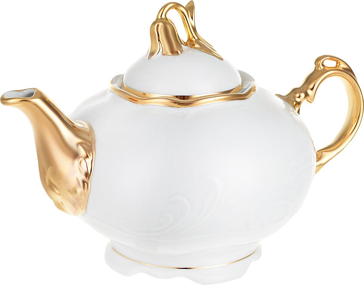 Чайник заварочный Белоснежный тюльпан. Золото (1100 мл) Thun 1794 a.s. thu770666